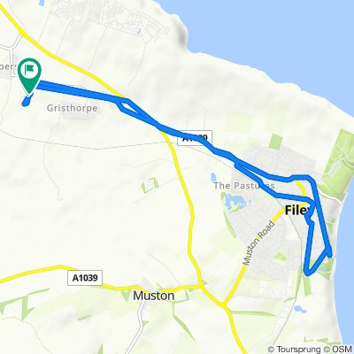 Filey and back.