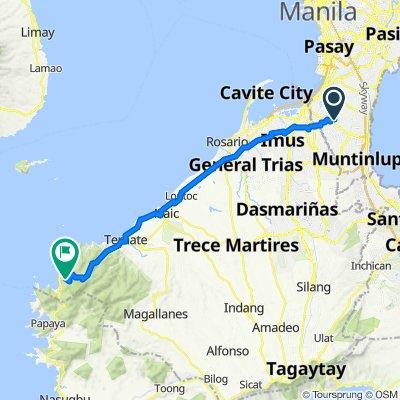 Camella Classic 14, Manila to Kaybiang Tunnel, Maragondon