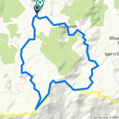 Itinéraire vers W252, Iflissen