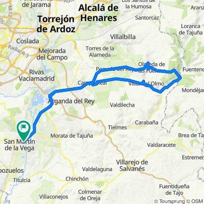 Sa Martin. Agranda, campo real, villar Del Olmo, Ambite, valdealcala, olmeda, Nuevo Baztan....Cafe...Campo real, Arganda, San Martin.
