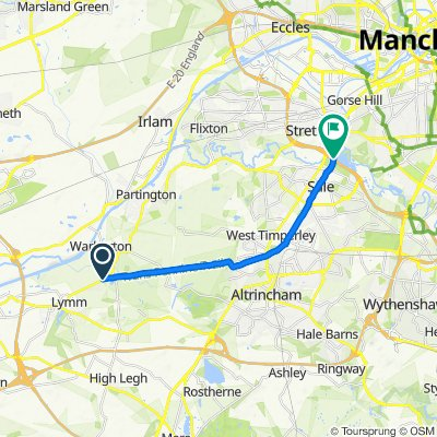 Rush Green Road 226 to Manchester Outer Ring Road, Sale