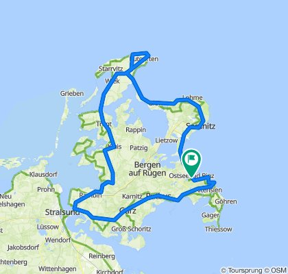Rügen und Meer on GPSies.com