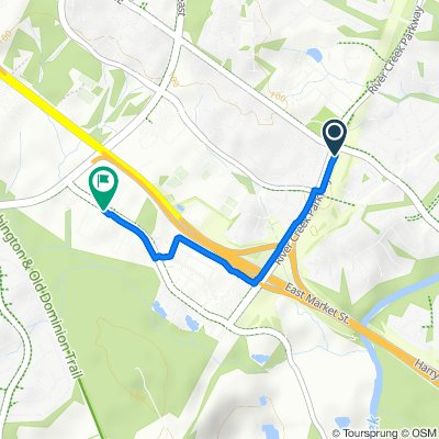Moderate route in Leesburg