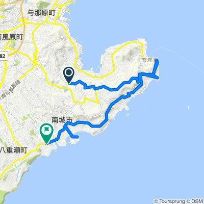Sashiki Shinzato, Nanjo-Shi to 国道331号, Yaese-Cho, Shimajiri-Gun