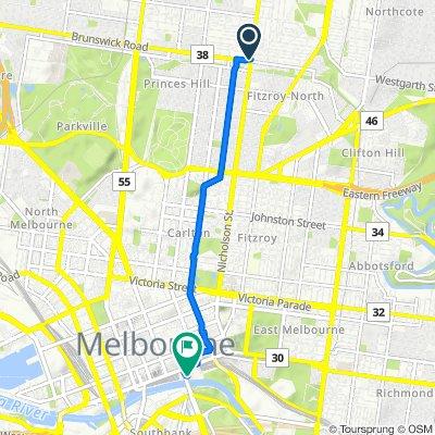 41–45 Nicholson Street, Brunswick East to 2-20 Swanston Street, Melbourne