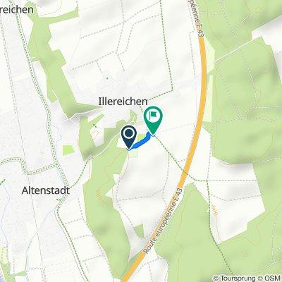 Gottesackerstraße 6A, Altenstadt nach Osterberger Straße 9, Altenstadt