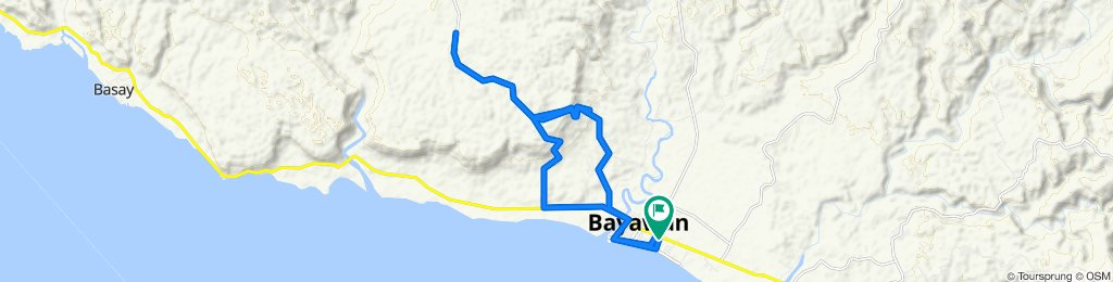 Route to National Highway, Bayawan City
