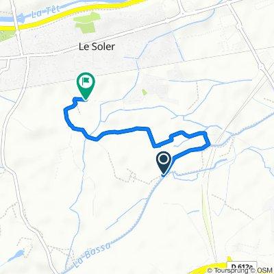De Chemin des Bassettes, Le Soler à Impasse Marabeille II, Le Soler