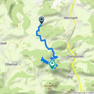 Route von Kornberg, Herznach