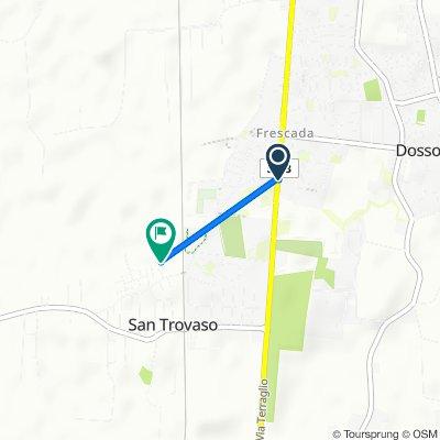 Da Via Terraglio 175, Frescada a Via Don Milani 9, San Trovaso