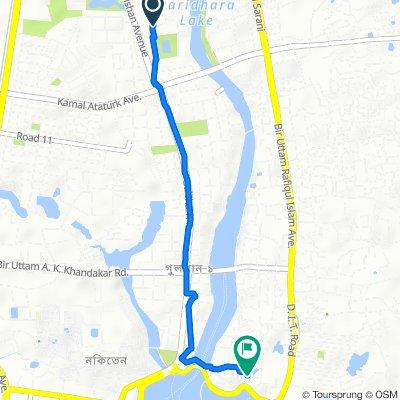 Road No 84 54, Dhaka to Unnamed Road, Dhaka