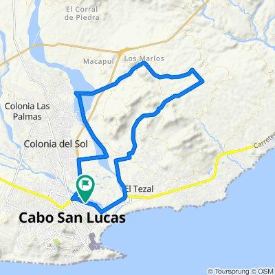 De Boulevard Constituyentes, Los Cabos a Boulevard Constituyentes, Los Cabos