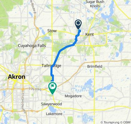 1061 Hollister Dr, Kent to 2482 Cedar Creek Ln, Akron