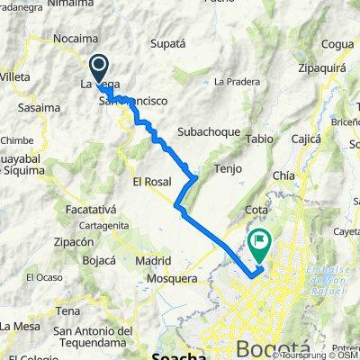 De La Vega a Calle 129 Bis 95c-09, Bogotá