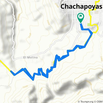 Chachapoyas - letrero bienvenida - Chachapoyas