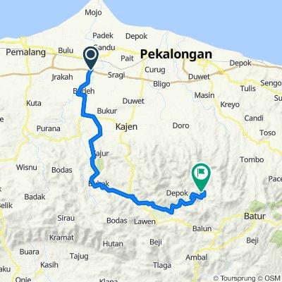 Ampelgading Tiga, Kecamatan Ampelgading to Hutan, Petungkriono