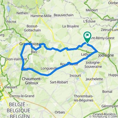 Melin - Grez-Doiceau - Chaumont - Dongelbert