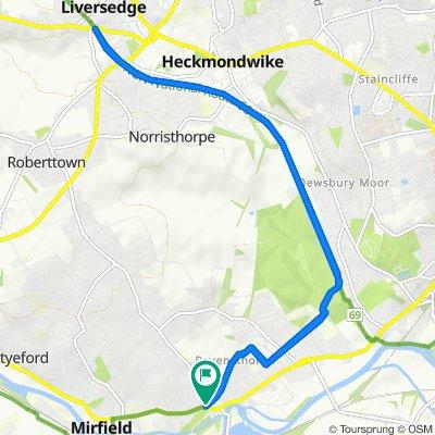 2 Church Lane, Mirfield to 2 Church Lane, Mirfield