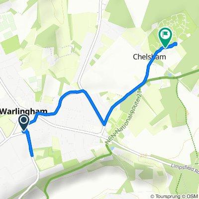 12 Redvers Road, Warlingham to 2–4 East Parkside, Warlingham