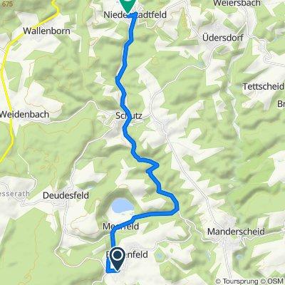 Holzbeulstraße, Bettenfeld nach Hauptstraße 35, Niederstadtfeld