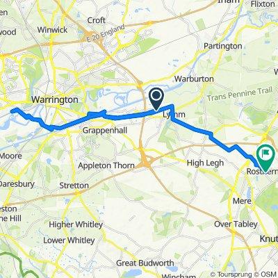 35 Star Lane, Lymm to 3, Lady Marys Square, Rostherne Lane, Knutsford