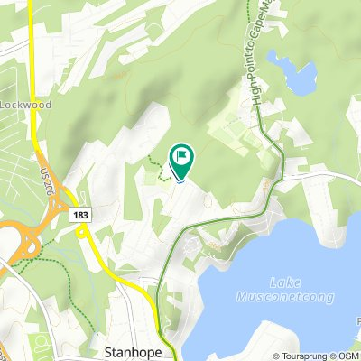 Valley Road 17, Stanhope to Valley Road 17, Stanhope
