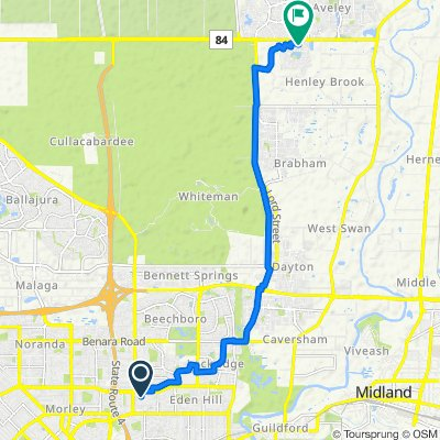 Morley Drive East 60 to Farrier Terrace 20, Henley Brook