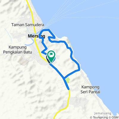 Jalan Tanjung 331, Mersing to Jalan Melor 55, Mersing