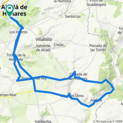 Alcalá, el gurugu, los hueros, torres, PozueloRey, villar Del Olmo,Ambite, valdealcala, olmeda, nuevo baztan, pozuelo rey, torres, los hueros, Alcalá