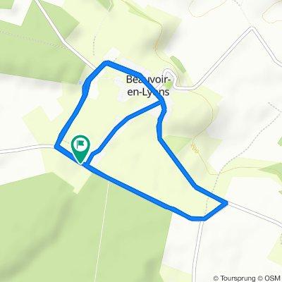 De 2–52 Route des Âcres, Beauvoir-en-Lyons à 20 Route des Âcres, Beauvoir-en-Lyons