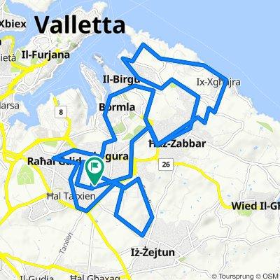 Triq San Tumas 421, Ħal Tarxien to Triq San Tumas 421, Ħal Tarxien