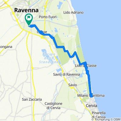 Da Via dei Ciliegi 2N, Ravenna a Via dei Nespoli 42, Ravenna