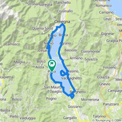 Itinerari imperdibili in mountain bike. In Piemonte e Valle D'Aosta: 09. Orta Girolago