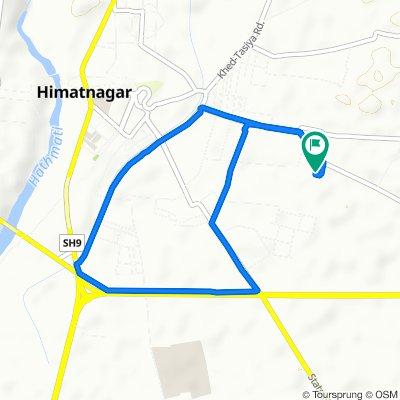 Mahakali Mandir Road, Himatnagar to Mahakali Mandir Road 69, Himatnagar