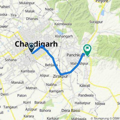 Chandigarh to Nada Sahib, Chaunki
