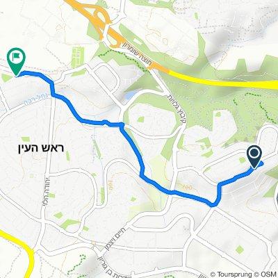 От Zohar Street 13, Rosh Haayin до Yehya Yitshak HaLevi Street 6, Rosh Haayin