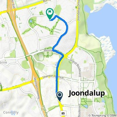 400–416 Joondalup Drive, Joondalup to 15F Jolstra Crescent, Joondalup