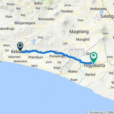 Jalan Veteran, Kebumen to Jalan Magelang, Jetis