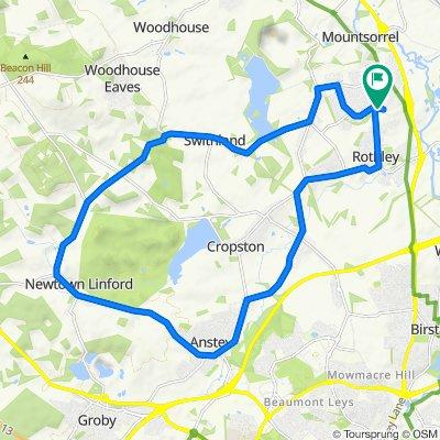23 Moore Gardens Close, Leicester to 23 Moore Gardens Close, Leicester