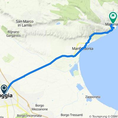 Patatrack - Giro dell'Acquedotto Pugliese e del Gargano - Giorno 3