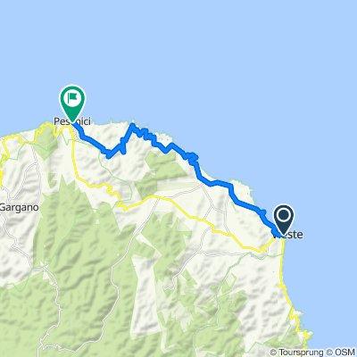 Patatrack - Giro dell'Acquedotto Pugliese e del Gargano - Giorno 6