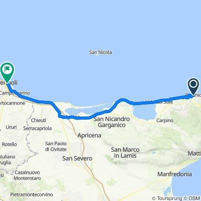 Patatrack - Giro dell'Acquedotto Pugliese e del Gargano - Giorno 7