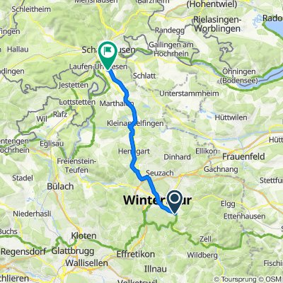 Roggenweg 14, Winterthur nach Brunngasse 8, Uhwiesen