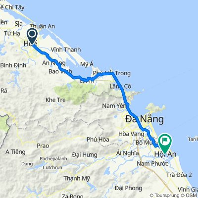Biking from Hue to Hoi An with Hoi An Private Car Team