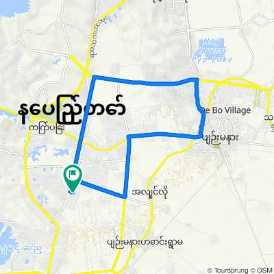 Route from Taw Win Yadana Rd, Nay Pyi Taw