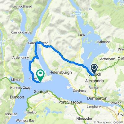 Balloch to Kilcreggan Ferry