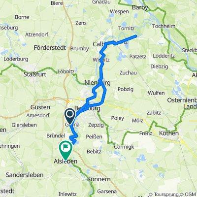 An der Saale 8, Gröna nach Grabenstraße 6, Alsleben (Saale)
