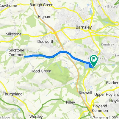 157–167 Park Road, Worsbrough, Barnsley to 157–167 Park Road, Worsbrough, Barnsley