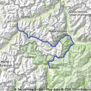 Kris Ronde Stelvio-Gavia-mortirollo (dag 1)