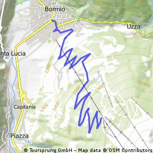 Bormio Bormio 2000 Bikemap Your bike routes